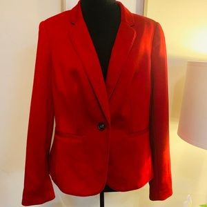 EUC The Limited Red Blazer